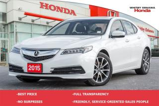 Used 2015 Acura TLX SH-AWD Technology Package | Automatic for sale in Whitby, ON