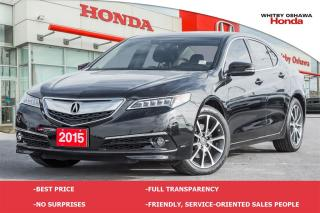 Used 2015 Acura TLX Elite | Automatic for sale in Whitby, ON