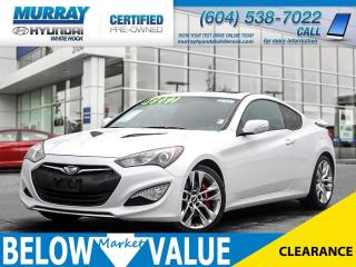 Used 2015 Hyundai Genesis Coupe 3.8 GT**Navi**Sunroof**Back Up Camera** for sale in Surrey, BC