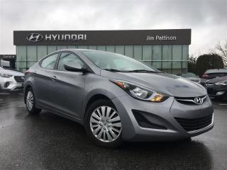 Used 2016 Hyundai Elantra GL-Local/Bluetooth/Heated Seats/keyless for sale in Port Coquitlam, BC