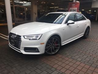 Used 2018 Audi S4 3.0T Technik for sale in Vancouver, BC