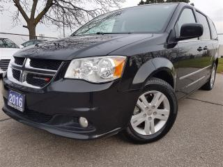 Used 2016 Dodge Grand Caravan Crew Plus-Navi-Leather-remote start for sale in Mississauga, ON