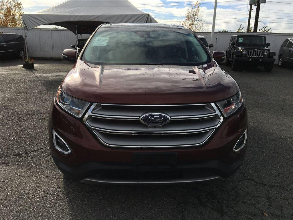 used 2016 ford edge titanium edition auto parking all wheel drive for sale in vancouver. Black Bedroom Furniture Sets. Home Design Ideas