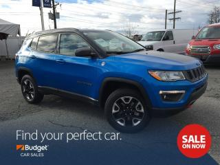 Used 2017 Jeep Compass Trailhawk Edition, Navigation, Leather Seating for sale in Vancouver, BC