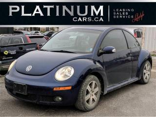 Used 2006 Volkswagen Beetle 2.5, AUTO, A/C, SUNROOF, HEATED LEATHER SEATS for sale in North York, ON