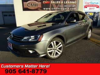 Used 2015 Volkswagen Jetta 2.0 TDI Highline  DIESEL, NAVIGATION, LEATHER, SUNROOF for sale in St Catharines, ON