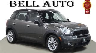 Used 2014 MINI Cooper Countryman COOPER AWD S LEATHER PANORAMIC SUNROOF for sale in North York, ON