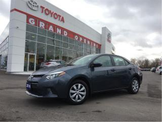 Used 2016 Toyota Corolla S for sale in Pickering, ON
