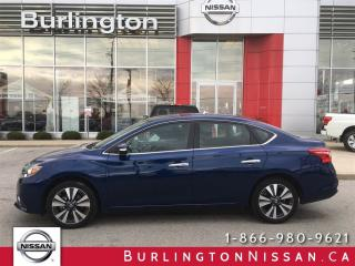 Used 2017 Nissan Sentra SL for sale in Burlington, ON