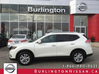 Used 2015 Nissan Rogue SV, FWD, ACCIDENT FREE ! for sale in Burlington, ON
