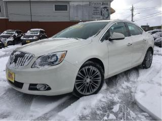 Used 2014 Buick Verano Leather Package MOONROOF BACKUP CAMERA for sale in St Catharines, ON