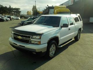 Used 2007 Chevrolet Silverado Classic 1500 LS Extended Cab Regular Box 4WD w/ Canopy for sale in Burnaby, BC