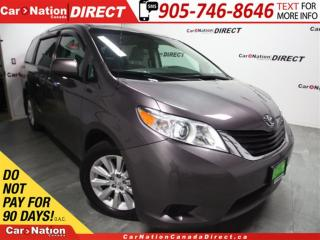 Used 2013 Toyota Sienna LE| AWD| BACK UP CAMERA| 3-ZONE CLIMATE CONTROL| for sale in Burlington, ON