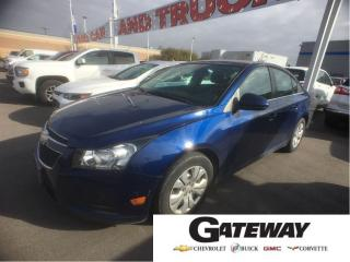 Used 2012 Chevrolet Cruze LT Turbo w/1SA|KEYLESS ENT|BLUETOOTH| for sale in Brampton, ON