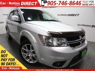 Used 2012 Dodge Journey R/T Rallye| AWD| LEATHER| BACK UP SENSORS| for sale in Burlington, ON