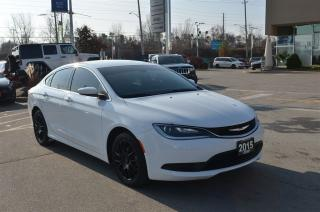 Used 2015 Chrysler 200 LX - 2.4L, Cruise, Bluetooth, Touch Screen for sale in London, ON