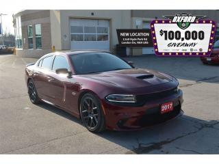 Used 2017 Dodge Charger R/T Scat Pack - 6.4L Hemi, Sunroof, Back Up Cam, B for sale in London, ON