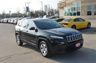 Used 2015 Jeep Cherokee Sport - 2.4L, Remote Start, Bluetooth, Heated Seat for sale in London, ON