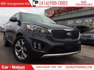 Used 2017 Kia Sorento SX+ NAVI| 360 CAM| 2 TONE LEATHER| PANO ROOF AWD for sale in Georgetown, ON