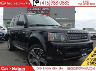 Used 2010 Land Rover Range Rover Sport SC | NAVI | ROOF | CLEAN CARPROOF | B/U CAM for sale in Georgetown, ON
