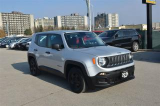 Used 2015 Jeep Renegade Sport - FWD, Fog Lights, Cruise, Touch Screen for sale in London, ON