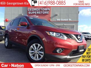 Used 2016 Nissan Rogue SV | AWD | PANO ROOF | BACK UP CAM | for sale in Georgetown, ON