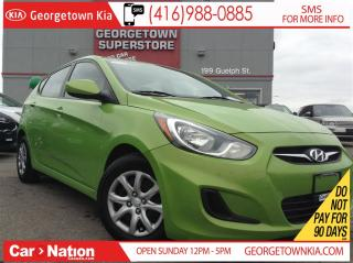 Used 2014 Hyundai Accent GL HEATED SEATS| POWER GROUP| BLUE TOOTH for sale in Georgetown, ON