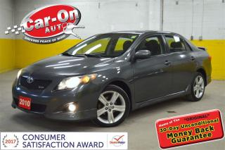 Used 2010 Toyota Corolla XRS LOADED !! SUNROOF for sale in Ottawa, ON