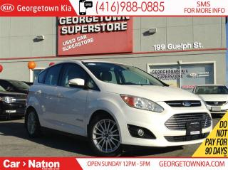 Used 2014 Ford C-MAX NAVI| LEATHER| ALLOYS| HEATED SEATS| LOW KMS for sale in Georgetown, ON