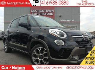 Used 2014 Fiat 500 L NAVI|PANO ROOF| HEATED SEATS| ALLOY WHEELS for sale in Georgetown, ON