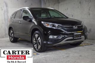 Used 2016 Honda CR-V Touring + NAVI + NO ACCIDENTS + CERTIFIED! for sale in Vancouver, BC