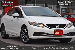 Used 2014 Honda Civic Sedan EX CVT for sale in Pickering, ON