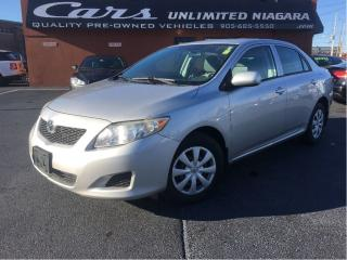 Used 2009 Toyota Corolla CE for sale in St Catharines, ON