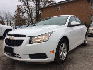 Used 2012 Chevrolet Cruze LT Turbo**BLUETOOTH**CRUISE**KEYLESS** for sale in Mississauga, ON
