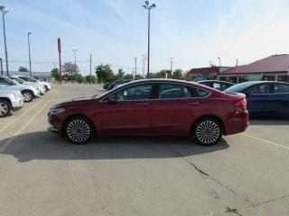 Used 2017 Ford Fusion Titanium AWD for sale in Cayuga, ON