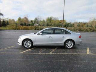 Used 2012 Audi A4 QUATTRO AWD for sale in Cayuga, ON