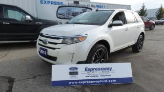 Used 2014 Ford Edge SEL 3.5L V6 285Hp, Moon, Navi, Leather for sale in Stratford, ON