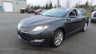 Used 2013 Lincoln MKZ 2.0L Eco 250Hp, Leather, Moon, Navi for sale in Stratford, ON