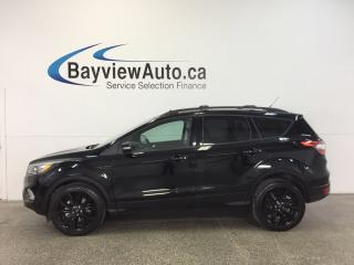 Used 2017 Ford Escape TITANIUM- 4WD|ECOBOOST|REM STRT|ROOF|NAV|BLIS! for sale in Belleville, ON