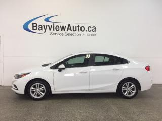 Used 2017 Chevrolet Cruze LT- TURNO|REM STRT|ROOF|HTD STS|REV CAM|BOSE|RCTA! for sale in Belleville, ON