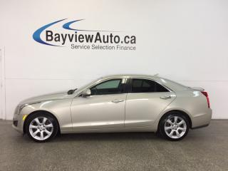 Used 2014 Cadillac ATS - AWD|TURBO|REM STRT|TINT|HTD LTHR|REV CAM|BOSE! for sale in Belleville, ON