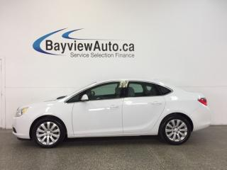 Used 2015 Buick Verano - ALLOYS|REM STRT|REV CAM|INTELLILINK|CRUISE! for sale in Belleville, ON