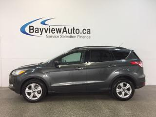 Used 2016 Ford Escape SE- 4WD|ECOBOOST|PANOROOF|HTD LTHR|NAV|REV CAM! for sale in Belleville, ON