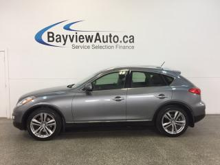 Used 2015 Infiniti QX50 - AWD|3.7L|SUNROOF|HTD LTHR|REV CAM|BLUETOOTH! for sale in Belleville, ON