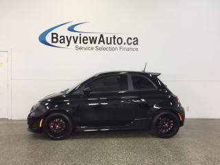 Used 2014 Fiat 500 ABARTH- 5 SPEED ALLOYS SUNROOF HTD STS BEATS! for sale in Belleville, ON