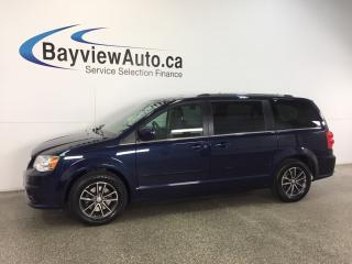 Used 2017 Dodge Grand Caravan SXT- ALLOYS|FLEX FUEL|DVD|NAV|REV CAM|PWR TRUNK! for sale in Belleville, ON