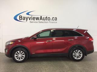 Used 2017 Kia Sorento LX- AWD|ALLOYS|HTD SEATS|PARK AID|CRUISE! for sale in Belleville, ON
