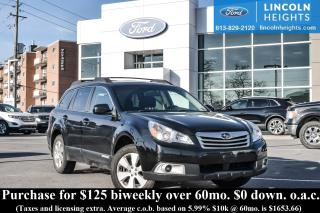 Used 2012 Subaru Outback 3.6R Premium for sale in Ottawa, ON