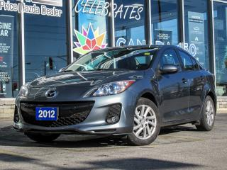 Used 2012 Mazda MAZDA3 GS MOON ROOF LEATHER SEAT LOW KM!!!!!! for sale in Scarborough, ON