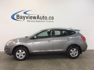 Used 2013 Nissan Rogue S- AWD|2.5L|HITCH|BLUETOOTH|CRUISE|A/C|LOW KM! for sale in Belleville, ON